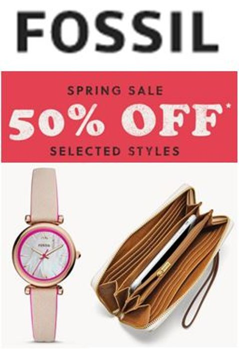 Fossil - Up to 70% OFF