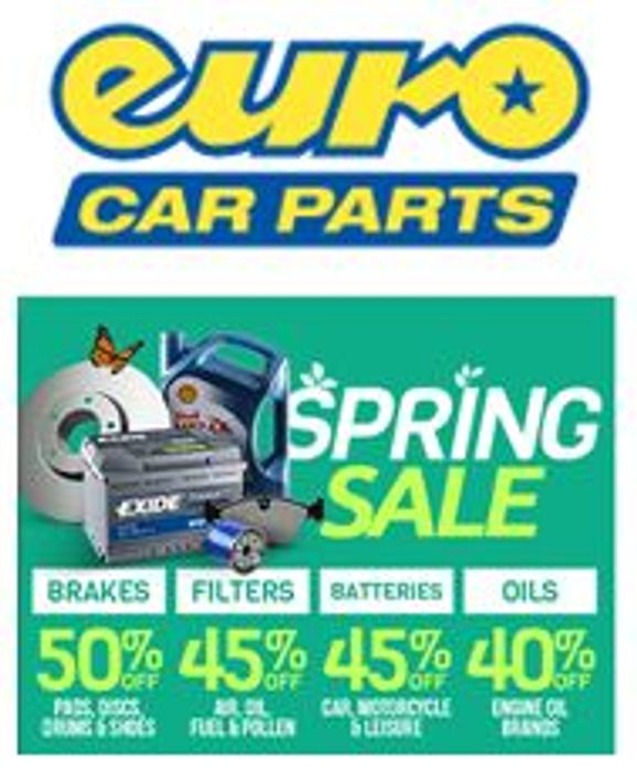 Euro Car Parts - Spring Sale - up to 50% OFF, FREE SAME DAY DELIVERY