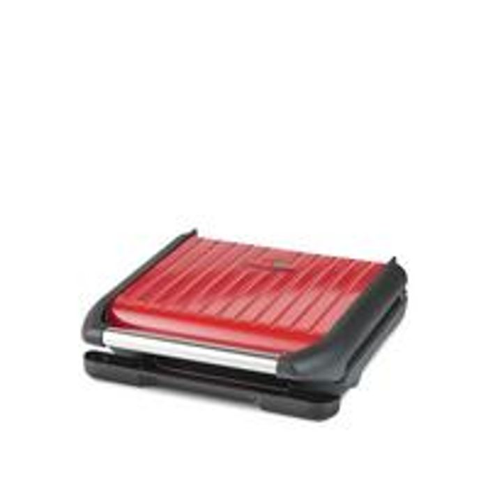 Cheap George Foreman Large Red Steel Grill - Only £39.99!