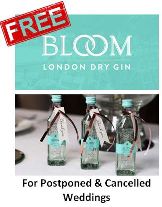 FREE Bloom Gin Wedding Favours