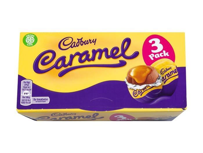 Cadbury Caramel Eggs X3