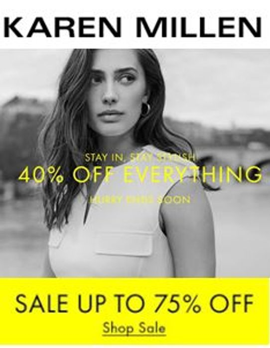 Karen Millen SALE - up to 75% off Dresses, Tops, Trousers & Knitwear