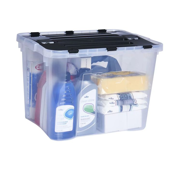 Cheap Heidrun Dragon 42L Storage Box with Clips Only £4!