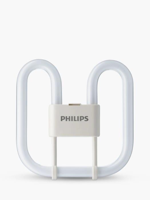 Philips 28W GR10Q4P PLQ-2D Energy Saver Bulb, Opal Only £1.6