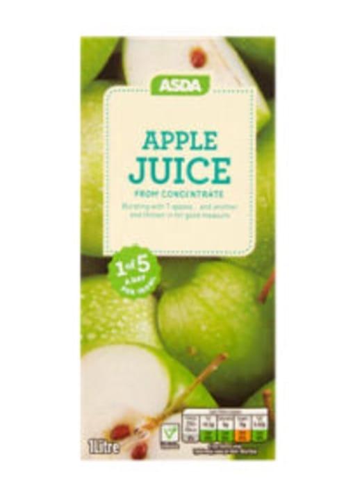 Best Price! ASDA 100% Pure Apple Juice Carton