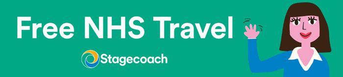 Free NHS Travel from Stagecoach