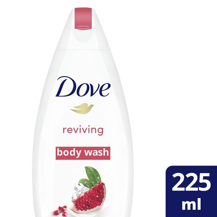 Special Offer! Dove Pomegranate & Verbena Scent Body Wash 225Ml