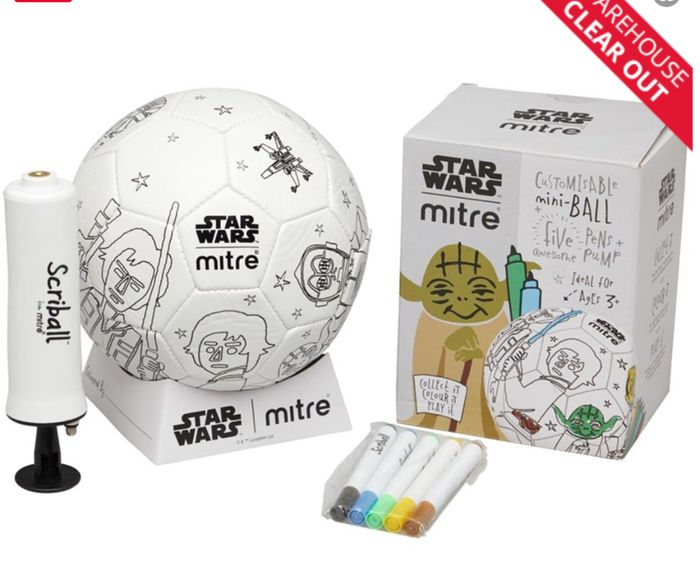 Mitre Star Wars Yoda Mini Scriball
