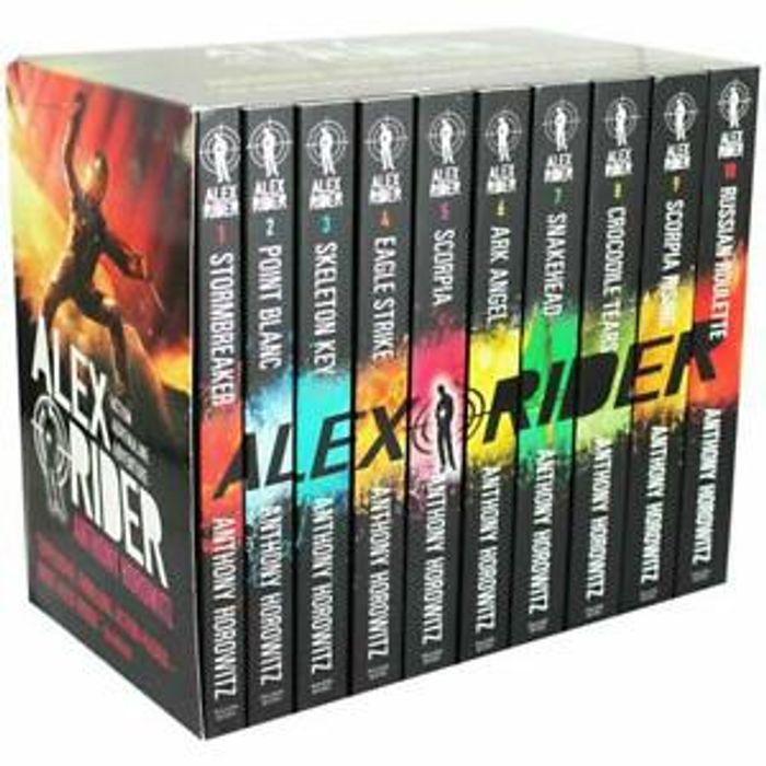 CHEAP! Alex Rider 10 Book Collection - New and Sealed - Free next Day Delivery!