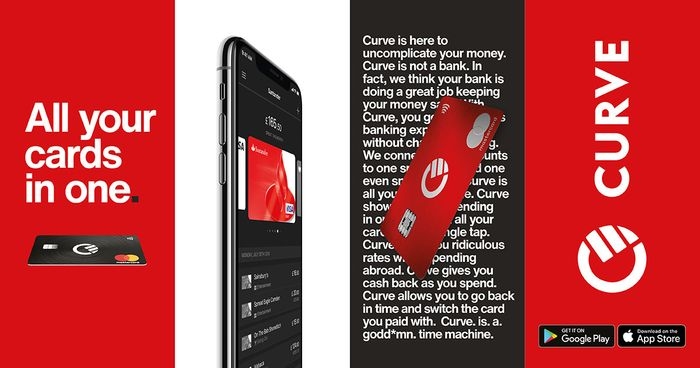 Get Curve FREE! One Card To Rule Them All!