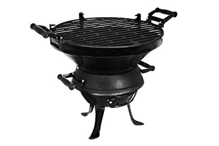 Firepit BBQ Fire Basket Outdoor Barbeque Grill