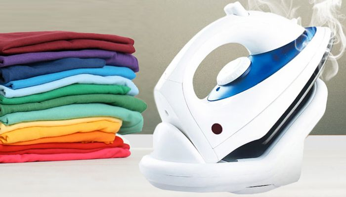 Best Price! 1800W Cordless Steam Iron with Non-Stick Soleplate