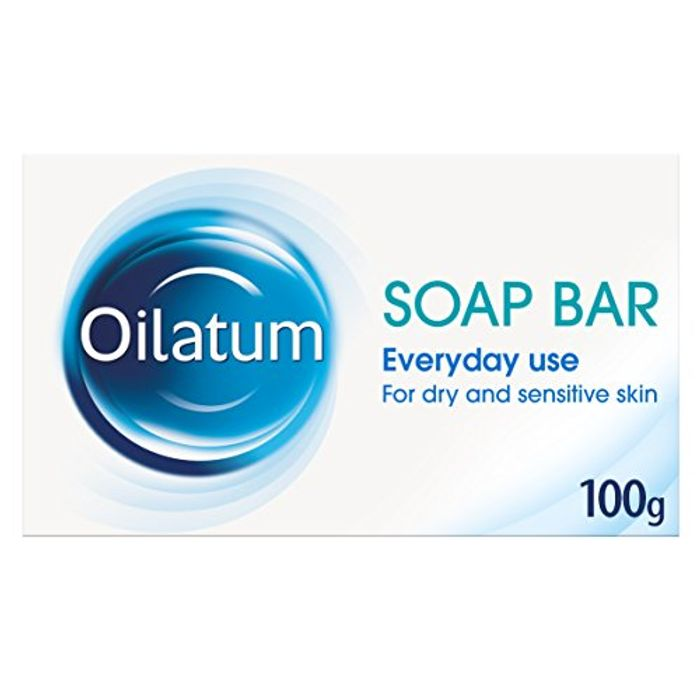 Oilatum Soap Bar for Dry and Sensitive Skin, 100 G