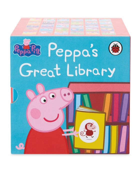 Cheap Peppa Pig 30 Book Collection - Only £14.99!