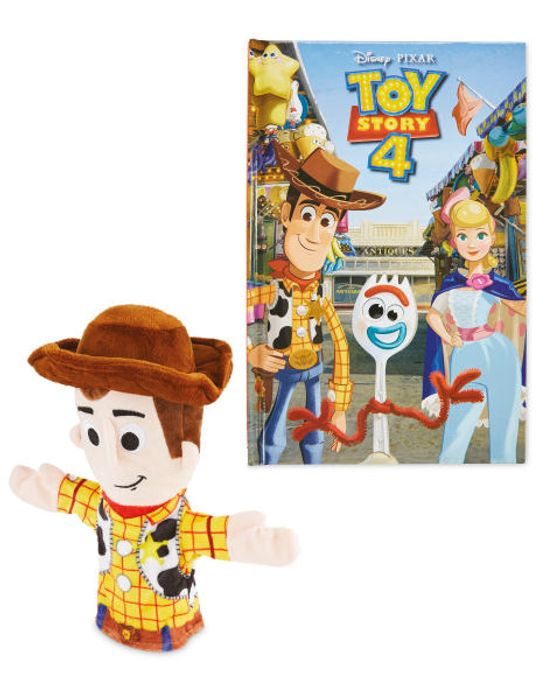 Cheap Toy Story Woody Book and Puppet - Only £6.99!