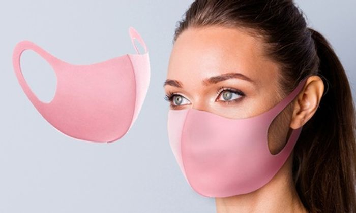 5 or 10 Pink Reusable Face Masks
