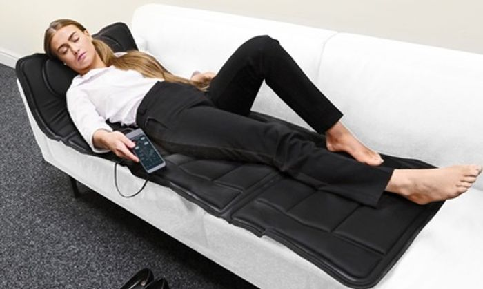 Cheap Full Body Heated Massage Mattress on Sale From £69.99 to £34.99