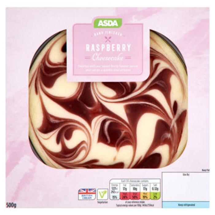 ASDA Raspberry Cheesecake