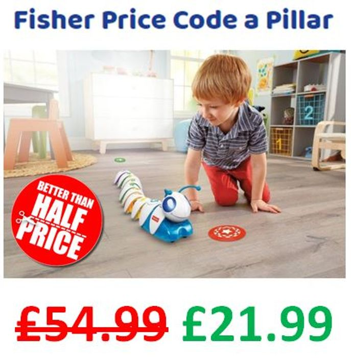 Fisher Price Code a Pillar - £33 off and FREE DELIVERY