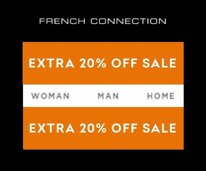 French Connection SALE - EXTRA 20% off the Sale Prices with Code