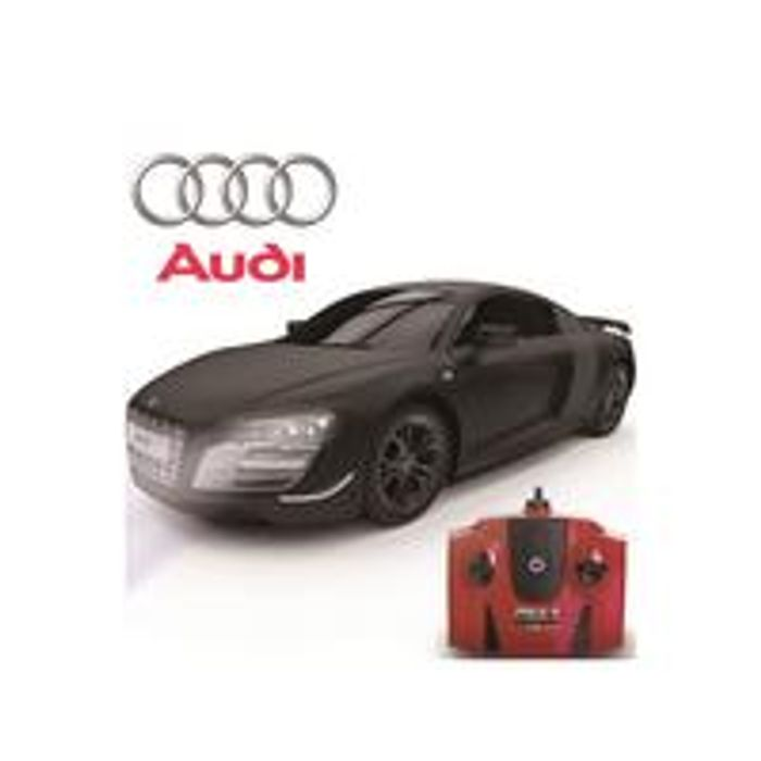 1:24 Scale Audi R8 Gt Limited Edition Black 2.4Ghz Remote Control Car