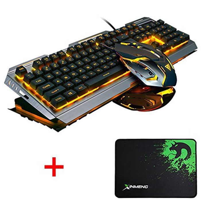 Cheap LexonElec Gaming Keyboard Mouse Sets - Only £23.99!