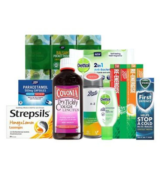 Essentials Healthcare Bundle £35 Delivered From Boots