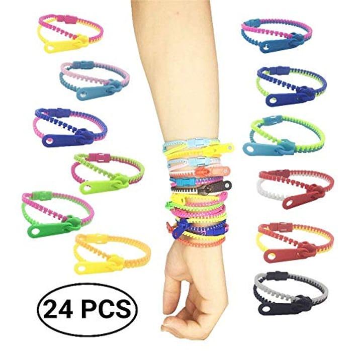 Friendship Fidget Zipper Bracelets,Sensory Toys