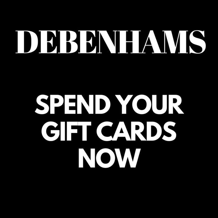 Debenhams Maybe Going In Admin - Spend Gift Cards Now With Free Delivery