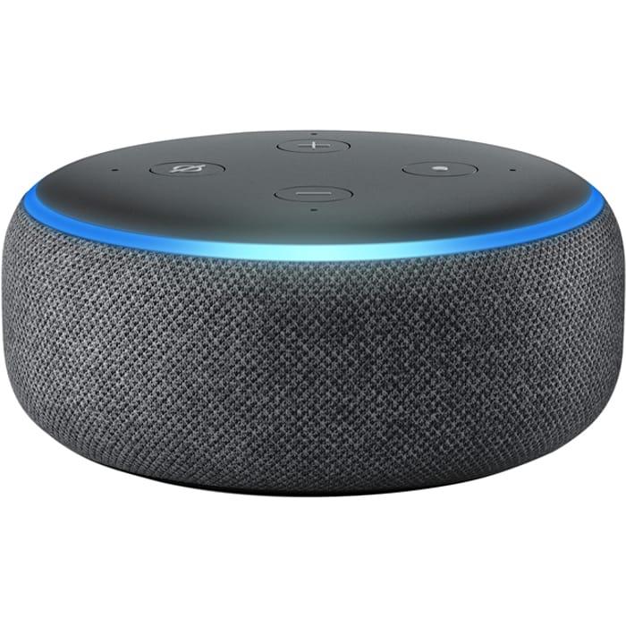 Amazon Echo Dot (3rd Gen) Smart Speaker with Alexa - Black