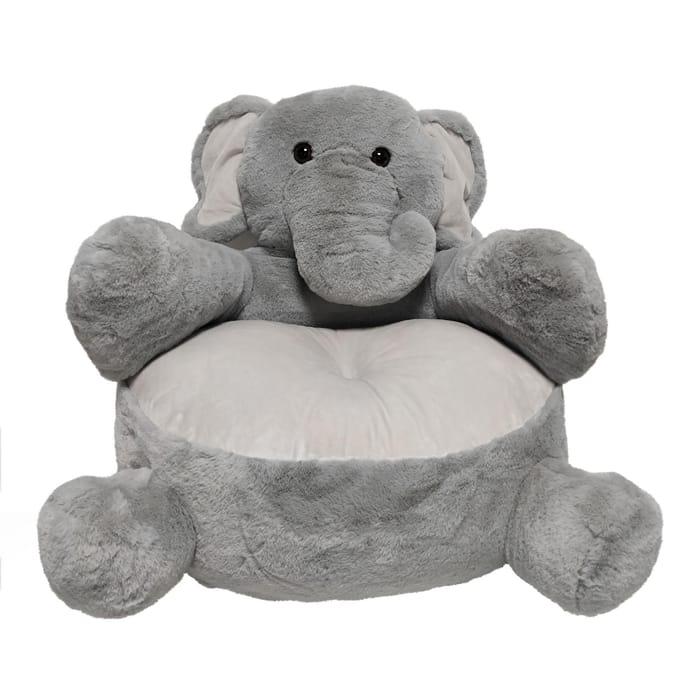 Elephant Sitting Plush - Save £10.50