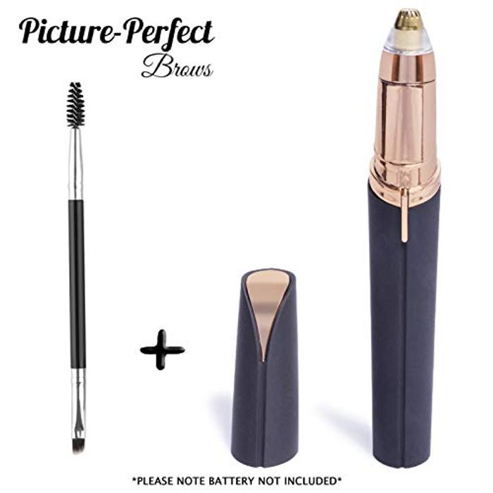 Picture-Perfect Painless Eyebrow Hair Trimmer for Removing Stray Hairs