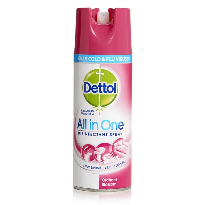 Dettol Orchard Blossom Disinfectant Spray 400ml