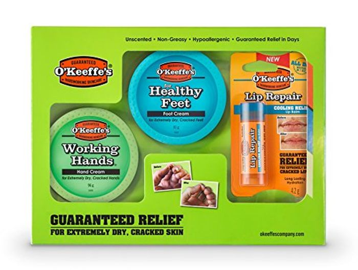 CHEAP! O'Keefes Hands , Feet and Lips Gift Set £14.99 at Amazon