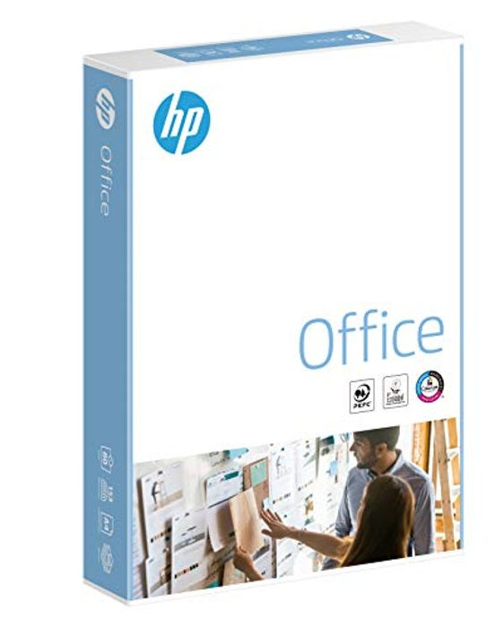 Cheap HP Office A4 210x297mm 80gsm 500sheets/Single Ream Only £3.47!