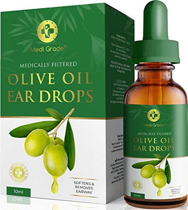 Olive Oil Ear Wax Remover Drops