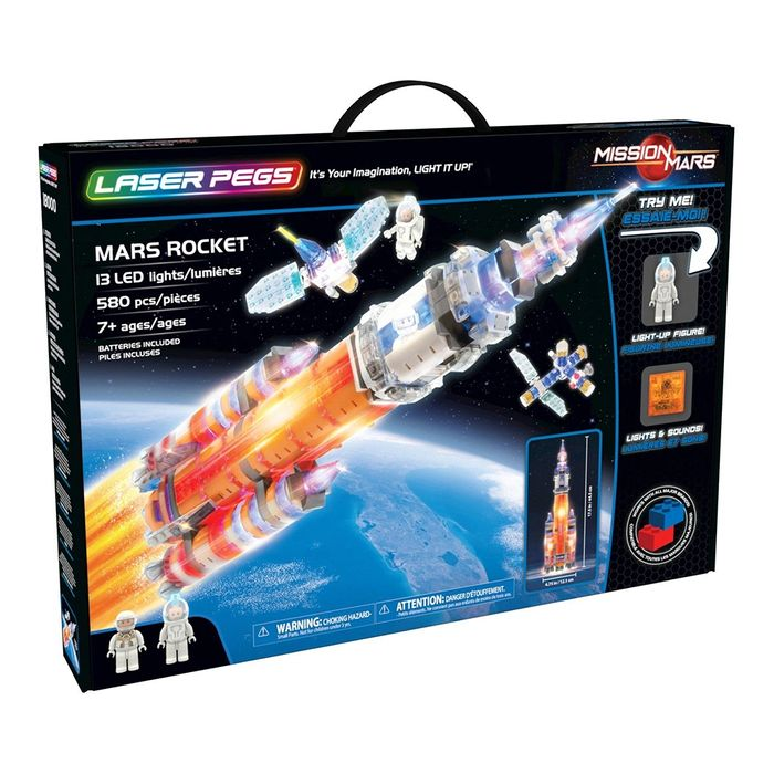 Laser Pegs: Mars Rocket Save £20
