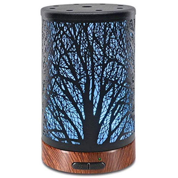 Ultrasonic Aromatherapy Cool Mist Aroma Essential Oil Diffuser