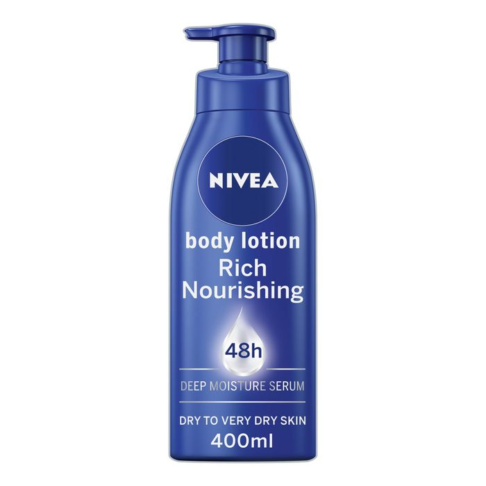 Nivea Body Rich Nourishing Moisturiser 400Ml HALF PRICE