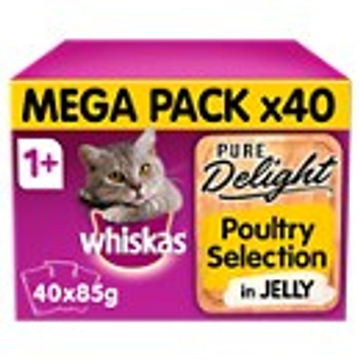 Whiskas Pure Delight Poultry Selection