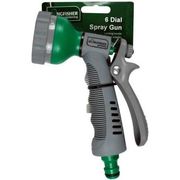Free 6 Dial Spray Watering Gun ( Affinity Water Area)