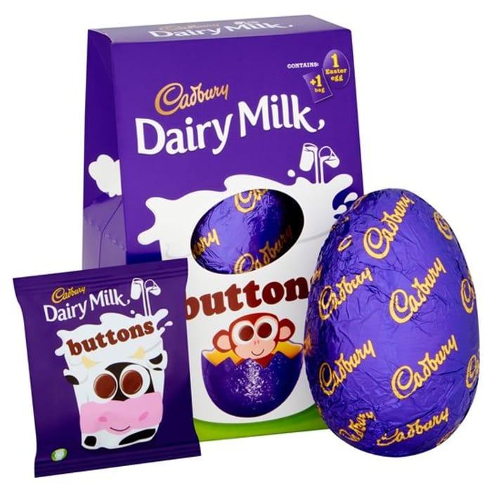 Cadbury Medium Easter Eggs Now 75p at Tesco