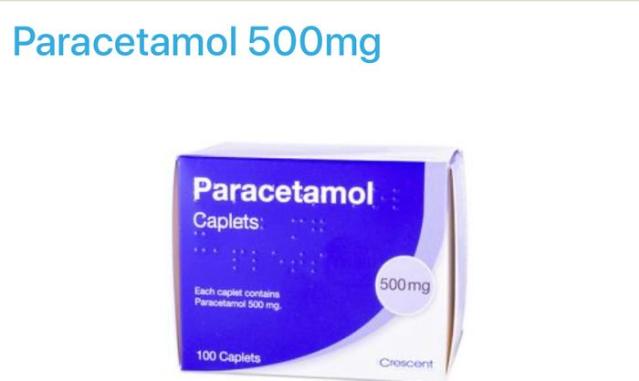 40 Paracetamol Caplets - Just Pay £2.90 Delivery