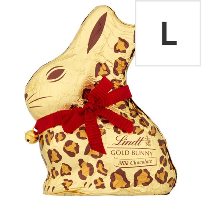 Lindt Large Chocolate Easter Bunnies - HALF PRICE!