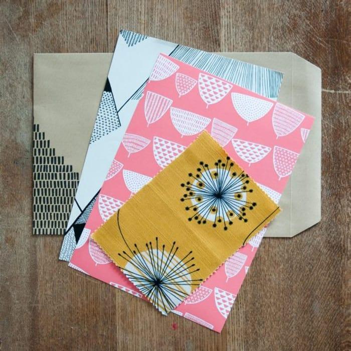 Free Wallpaper, Fabric & Window Film Samples + FREE P&P