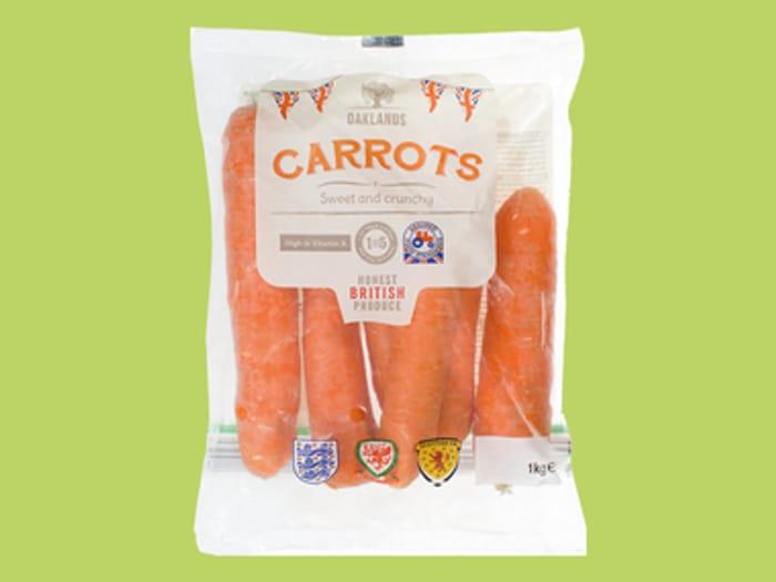 Carrots 1kg, Parsnips 500g 19P at Lidl
