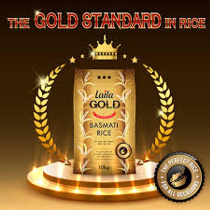 Cheap Laila Gold Basmati Rice 10Kg - Only £11!