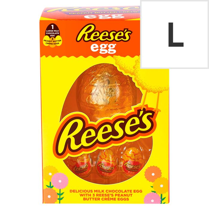 Reese's Milk Chocolate Egg with 3 Peanut Butter Creme Eggs 232G 2 for £7
