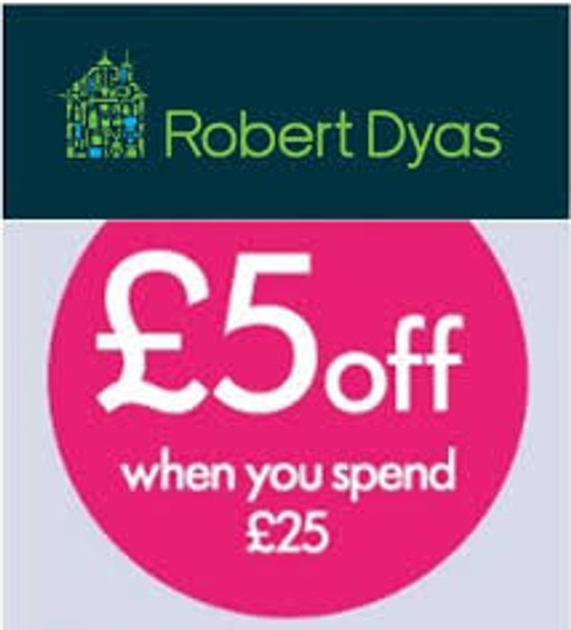Special Offer! £5 off When You Spend £25 at Robert Dyas with Code