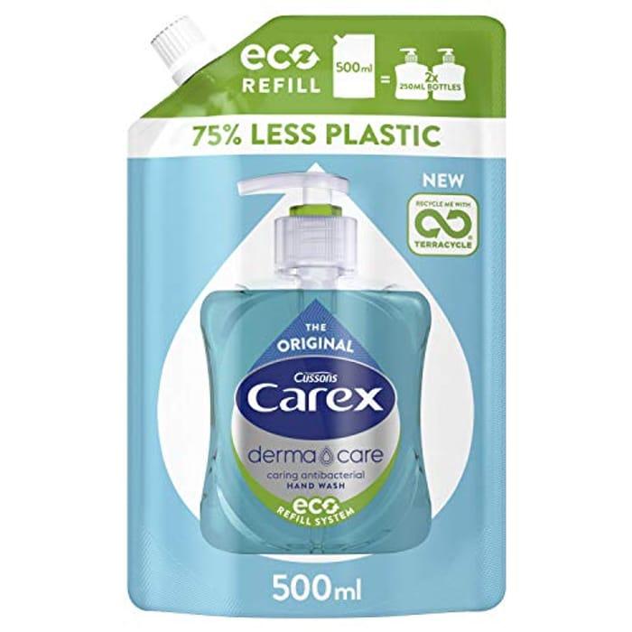Carex Original Hand Wash Refill, 500 Ml, Pack of 8